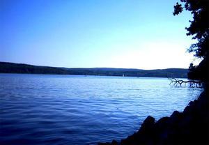 Czesc mojego jeziora Möhnesee